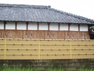 木製の外壁