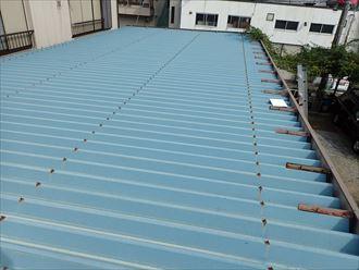 千葉市 折板屋根の塗装調査009_R