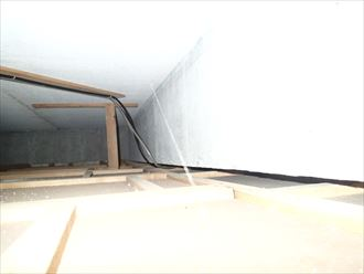 市原市 1階の部屋の雨漏り