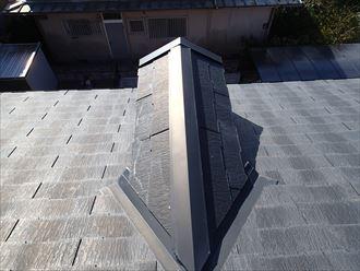 木更津市でコロニアル屋根剥がれの調査に伺いました
