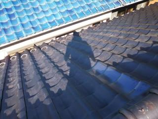 千葉市花見川区検見川町にて火災保険を利用し棟の取り直しと葺き直し工事で台風被害を改善アフター