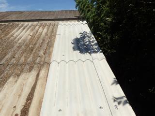 千葉市花見川区天戸町の工場にてスレート葺き替え工事を行い雨漏りを改善アフター