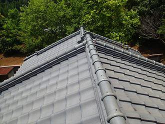 風格のある瓦屋根