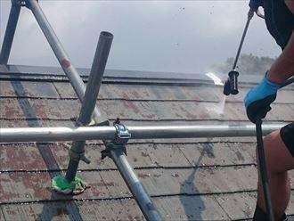 千葉市緑区 洗浄 屋根塗装                                             002_R