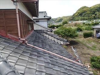 南房総市 瓦屋根の葺き替え調査007_R
