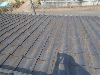 市原市のセメント瓦屋根の屋根リフォーム調査に伺いました