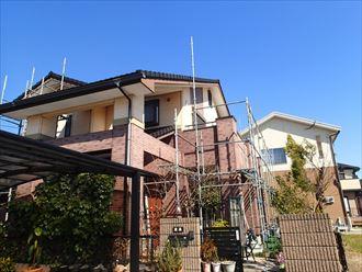 富津市で外壁塗装工事に合せて屋根修理の必要があるか調査