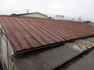 千葉市 倉庫屋根の雨漏り調査009_R