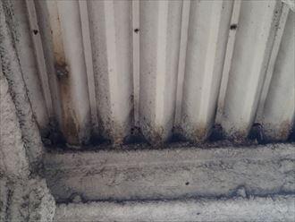 木更津市の漏水調査 折板屋根