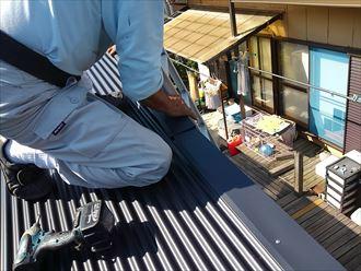 君津市 コロニアル屋根のカバー012_R