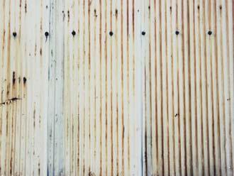 トタンの塀
