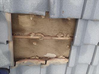 君津市 屋根の調査 防水紙