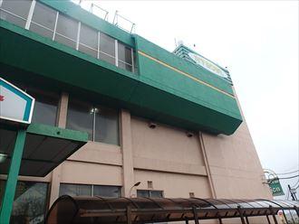 君津市のボーリング場の屋根修理の為の調査に伺いました