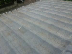 雨漏り補修 屋根部分葺き直し後