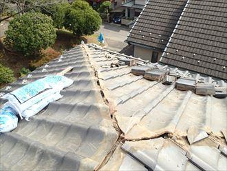 千葉市 瓦屋根の棟ズレ 工事004_R