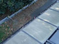 雨樋の詰まり 落葉