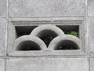 目透しブロック