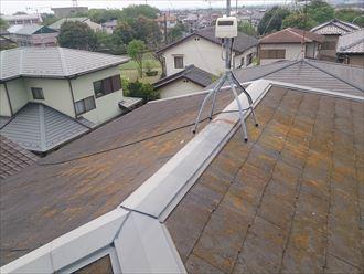 市原市 風害調査で屋根の上に002_R