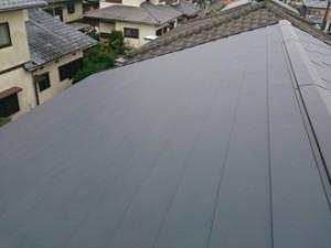 セメント瓦の屋根葺き替え アフター