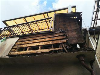 千葉市 台風で外壁落下009_R