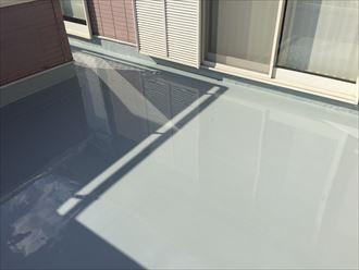 2層目,完了,塗膜防水