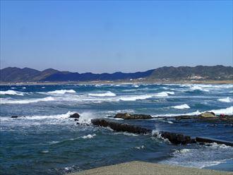 白子町 海のようす001_R