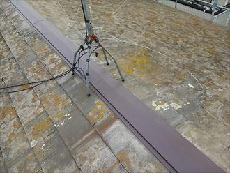 木更津市|台風被害の屋根修理と雨樋修理