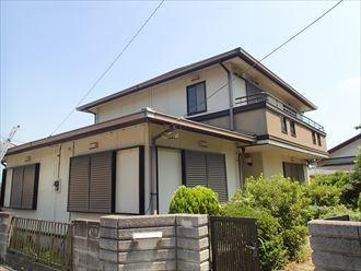 君津市の中古住宅の屋根調査、塗装か葺替えか