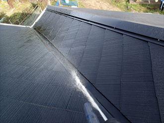 屋根の調査 散水 木更津市