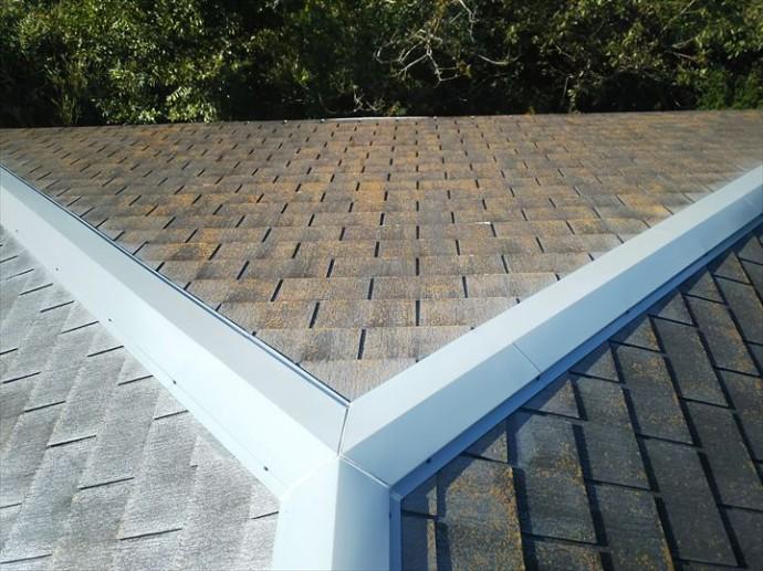 柏市南逆井で行ったスレート屋根の調査で方角により屋根の傷みは異なります