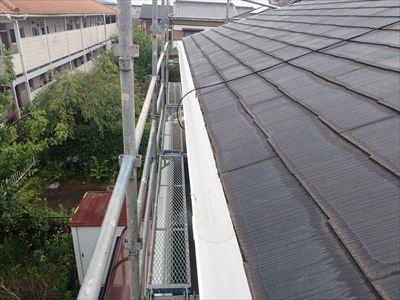 袖ヶ浦市|撓んだ雨樋の交換工事と植栽伐採を実施!