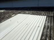 小波スレート,屋根葺き替え