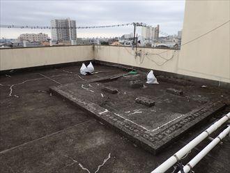 鴨川市 ビルの漏水 防水工事002_R
