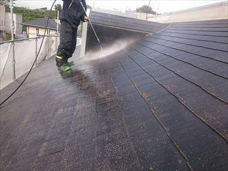 木更津市 屋根・外壁塗装 洗浄003_R