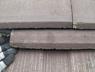 袖ヶ浦市 セメント瓦の漆喰調査004_R