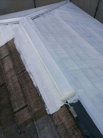 君津市 屋根の塗装工事 下処理006_R