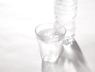 冷たいの水