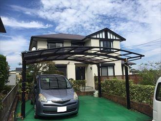 勝浦市 カーポート屋根の被災00001_R