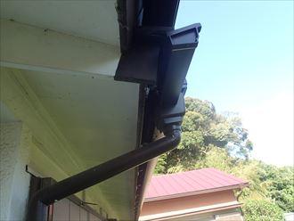 角型の雨樋