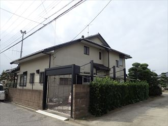 君津市で大手ハウスメーカーのお住まいの屋根調査