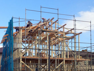 新築建設中