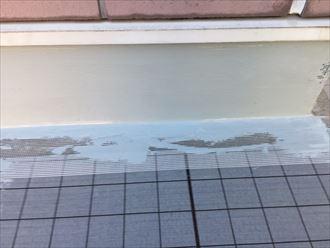 メッシュ張り,塗膜防水