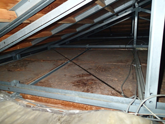 N様 船橋市 雨漏り 屋根裏点検 屋根補修
