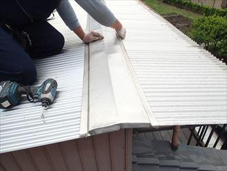 新規屋根設置 袖ケ浦市