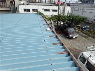 千葉市 折板屋根の塗装調査010_R