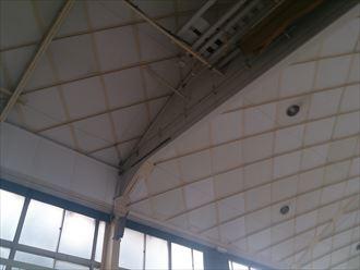 市原市 体育館の雨漏り調査001_R