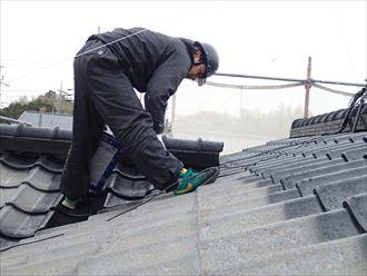 セメント瓦の屋根塗装