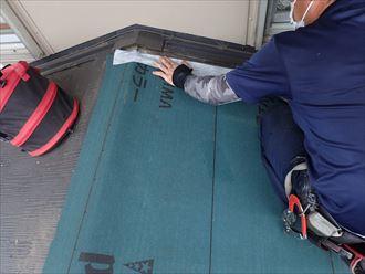 木更津市 屋根部分葺き替え001_R