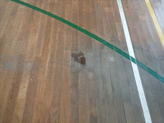 市原市 工場内体育館の漏水調査025_R