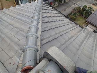 市原市の屋根調査 粘土瓦3